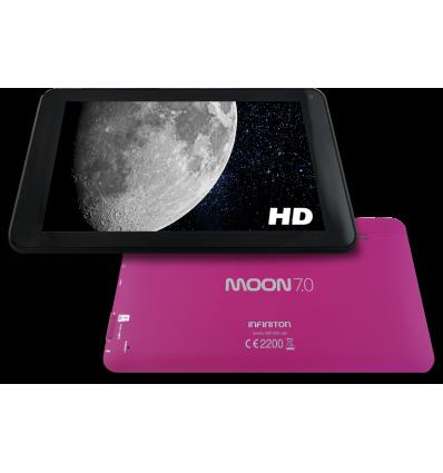 "Tablet Infiniton Moon 7"" 8gb Quadcore Rosa"