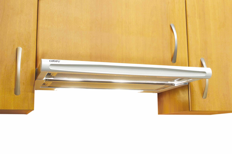 Campana Cata Tf-5060 60 Blanca Extraible 60cm