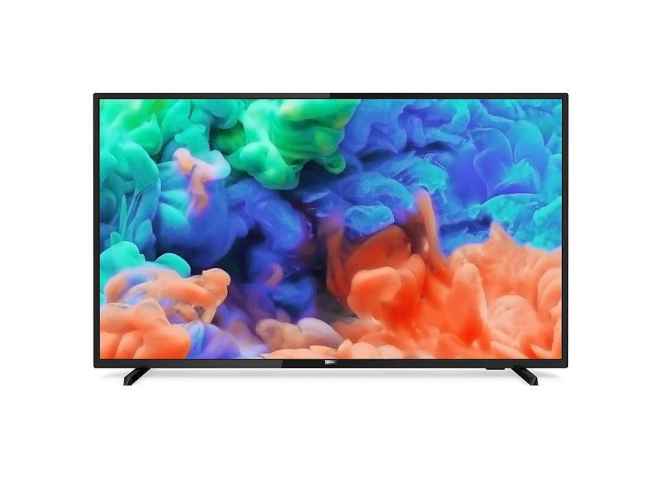 Lcd Led 58 Philips 58pus6203 4k Uhd Hdr Plus Smart Tv