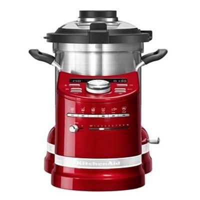 Robot Cocina Aritsan Kitchenaid 5kcf0104eca Rojo M