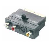 Adaptador Vivanco 9/110 Euro A 3rca+svhs-42048