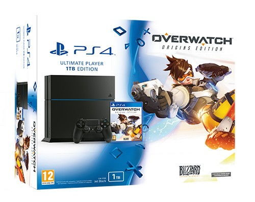 Consola Sony Ps4 1tb + Overwatch