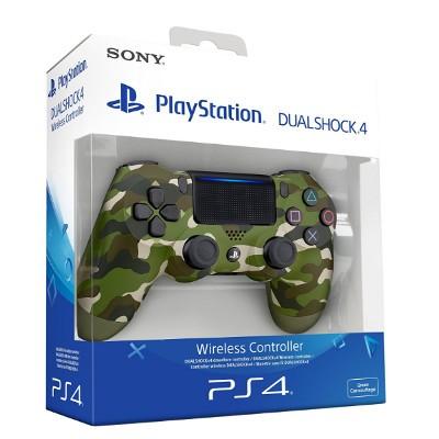 Mando Sony Ps4 Dualshock 4 V2 Verde Camuflaje