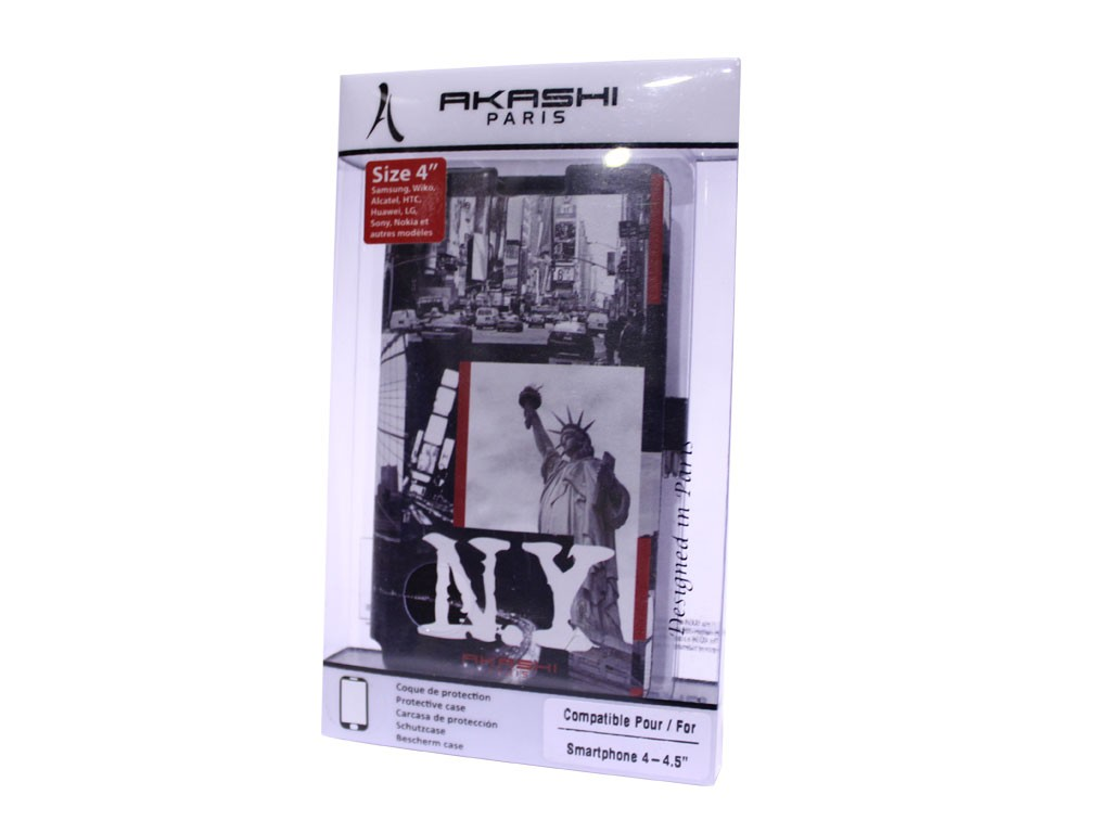 """Funda Libro Universal Akashi 4"""" - 4,5"""" New York"""