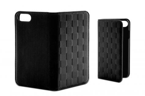 Funda Folio Soft Ksix Para Iphone 7 Plus Negra