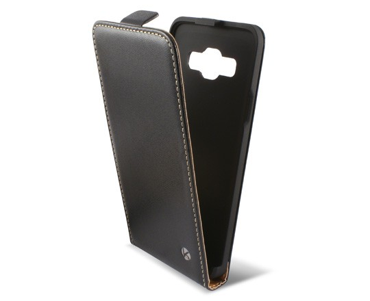 Funda Con Tapa Ksix Samsung Galaxy A3 Negra