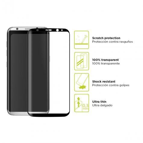 Protector Pantalla Extrem Ksix Vidrio T Galaxy S8+