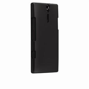 Funda Trasera Rigida Negra Sony Xperia S
