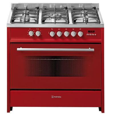 Cocina Gas Meireles E911r 5f 90cm But Roja Horno E