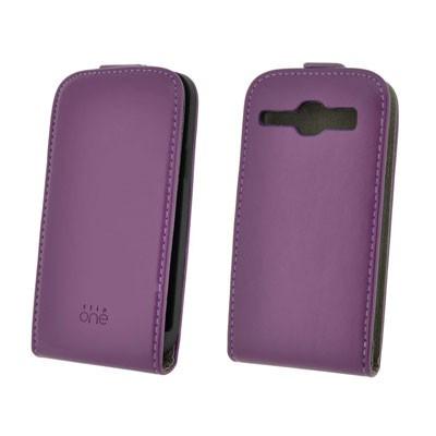 Funda 4-Ok Flip One Samsung Galaxy Core Lila