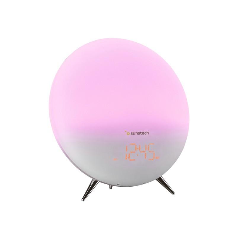 Radio Despertador Sunstech Frlamp1 Blanco