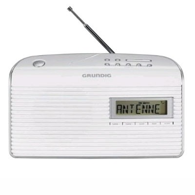 Radio Portatil Grundig Music61 Blanca (Grn1400)