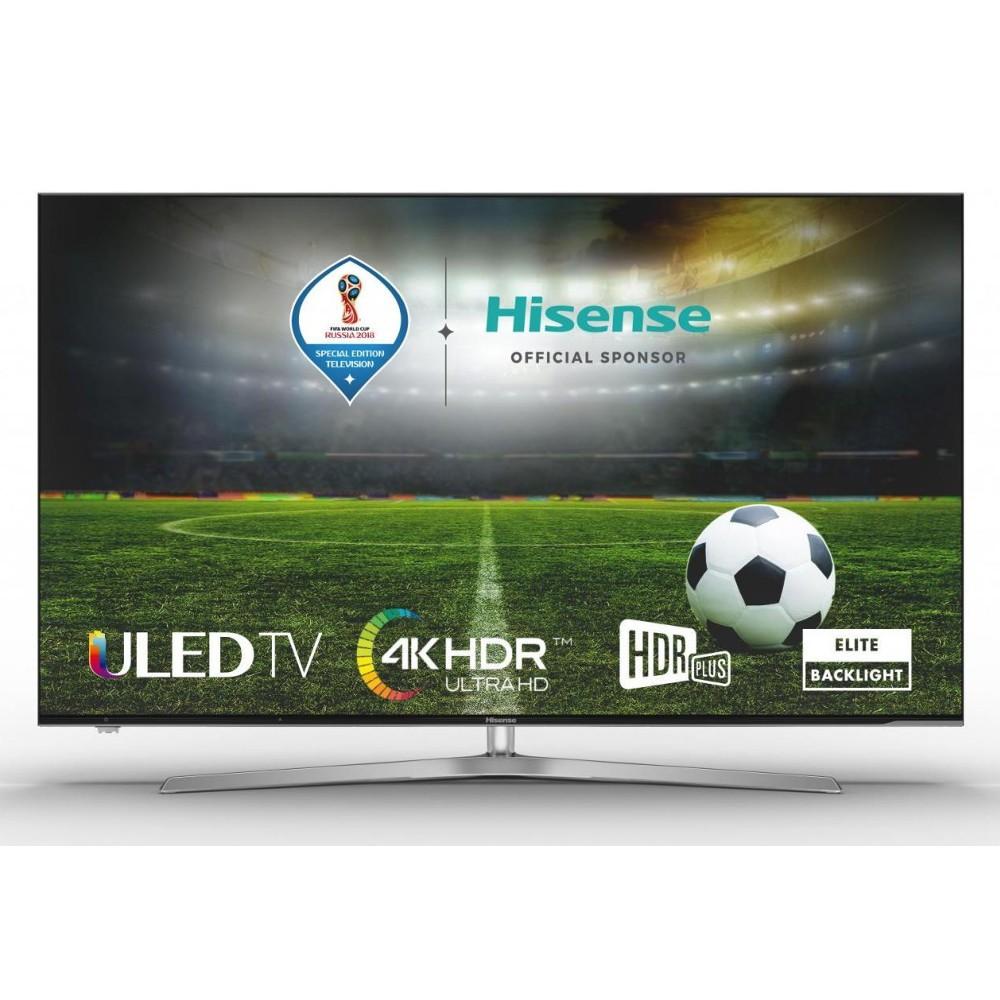Tv 50 Hisense H50u7a Uled 4k Uhd Hdr Plus Smart Tv Wifi Plata/Negro