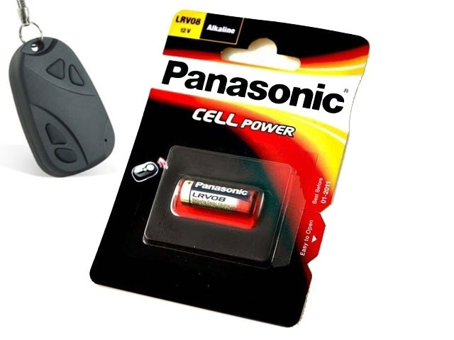 Pilas Alcalinas Panasonic  12v  Lrv08 ( 1-Blis