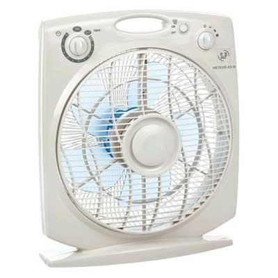 Ventilador Box Fan S&P Meteoresn 35w Tempor Gris