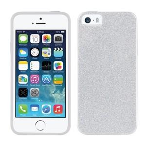 Funda Tpu Muvit Plata Bling Glitter Iphone 5s/Se