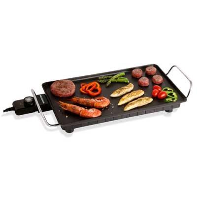 Plancha Cocina Mondial Tc01 26x46cm 2500w