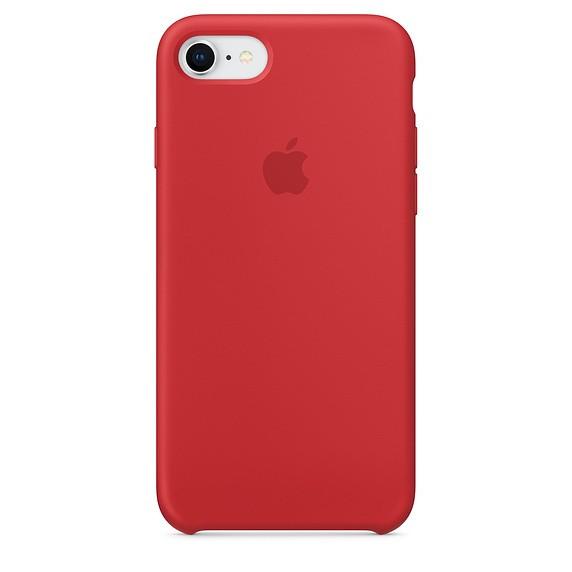Funda Apple Iphone 8/7 Silicona Roja