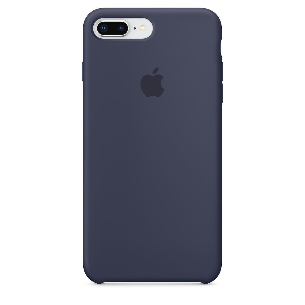 Funda Apple Iphone 8 Plus / 7 Plus Silicona Azul Noche