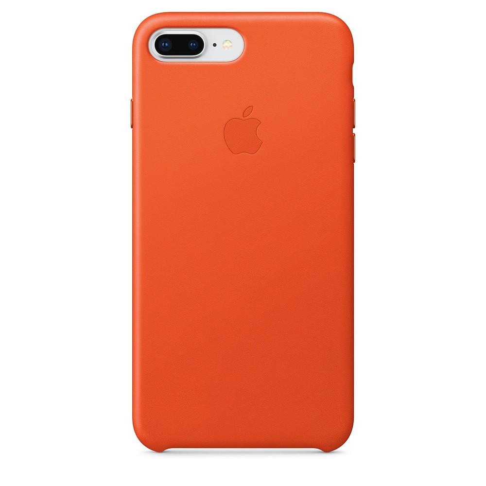 Funda Apple Iphone 8 Plus / 7 Plus Piel Naranja