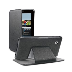 Funda Snow Slim Negra Soporte Samsung P3100/3110