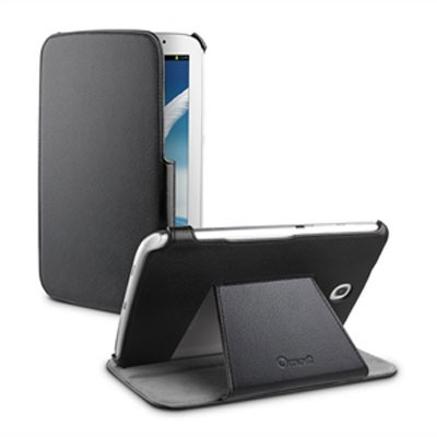 Funda Snow Slim Negra Con Soporte Galaxy Note 8.0