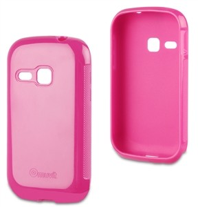 Funda Minigel Rosa Samsung Galaxy Young S6310