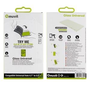 Glass Muvit Universal 0.33mm 5.0''