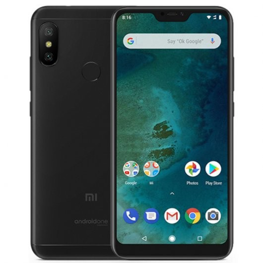 "Movil Xiaomi Mi A2 Lite 5.84"" 4g Octacore 3+32gb Black"