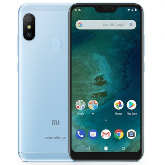 """Movil Xiaomi Mi A2 Lite 5.84"""" 4g Octacore 4+64gb Blue"""