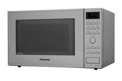Microondas Grill 31l Panasonic Nn-Gd462mepg Plata