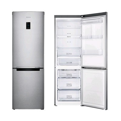 Combi Samsung Rb31her2csa/Ef 185cm Inox A++