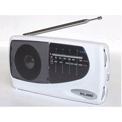 Radio Elbe Rf 52 Sob Portatil Blanca