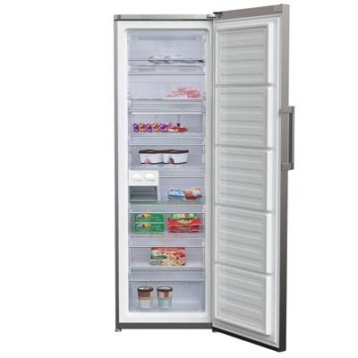 Congelador V Beko Rfne312e33x 185cm Nf Inox A++
