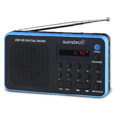 Radio Portatil Sunstech Rpds32bl Azul