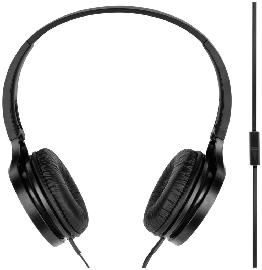 Auriculares Diadema Panasonic Rp-Hf100e-K C/Micro