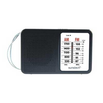 Radio Portatil Sunstech Rps411bk Negra