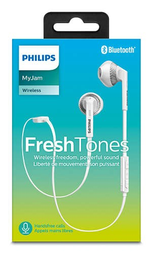 Auricular Boto Philips Shb5250wt/00 Bluetooth