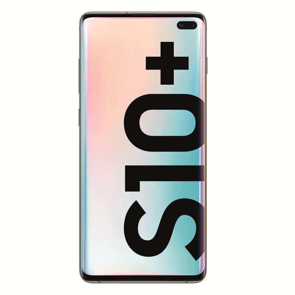 "Movil Samsung Galaxy S10+ 6.4"" 512gb 8gb + Microsd 5 Camaras Ceramic White"