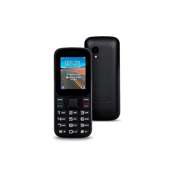 "Movil Thomson Tlink12 1.8"" Bluetooth Dual Sim Negro"