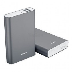 Bateria Externa Power Bank Huawei 13000mah 2a 2usb Silver