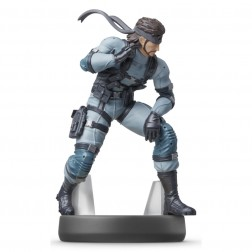 Amiibo Solid Snake Nintendo (Coleccion Super Smash Bros)