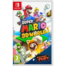 Juego Nintendo Switch Super Mario 3d World + Bowser'S Fury