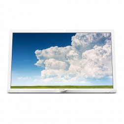 Tv 24 Philips 24phs4354 Hd 2hdmi Usb Vga Blanca