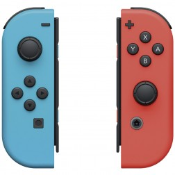 Mando Nintendo Switch Joy-Con Izda/Dcha Azul/Rojo Neon