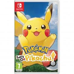 Juego Nintendo Switch Pokemon Lets Go Pikachu