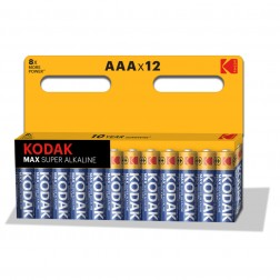 Pila Alcalina Kodak Max Aaa Lr3 (12un)