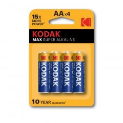 Pila Alcalina Kodak Max Aa Lr6 (4un)