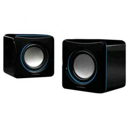 Altavoz Vivanco Stereo Compacto Negro/Azul (31925)