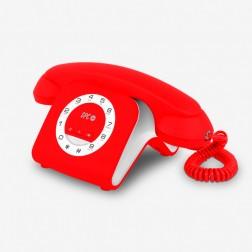 Telefono Sobremesa Spc Retro Elegance Mini Rojo